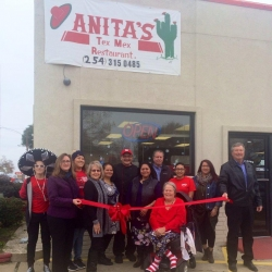 Anitas's Ribbon Cutting – Dec. 27