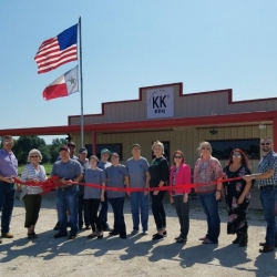 KK's BBQ Ribbon Cutting – August 16, 2018