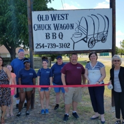 Old West BBQ – Signage