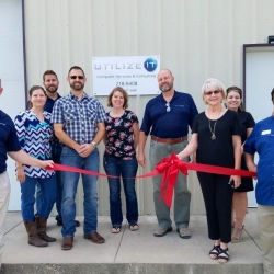 UTILIZE IT Ribbon Cutting – August 2018