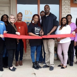 D's Tisted Root Sloan & Day Spa – Ribbon Cutting -Feb. 2019